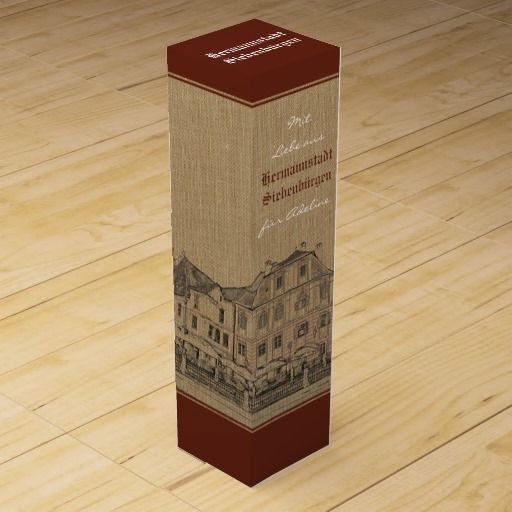 Wine box from an old Transylvanian medieval town