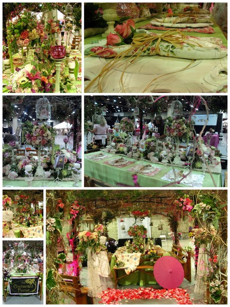 stunning floral booth think about a canopy