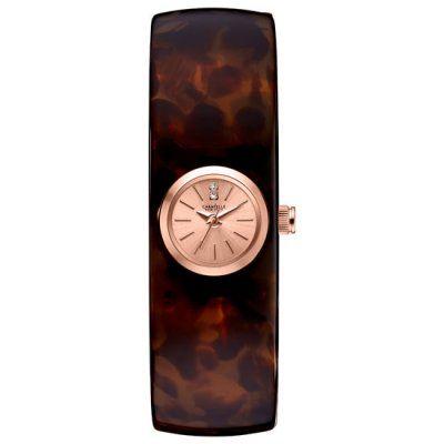 Caravelle New York Ladies Brown Stainless Steel Bracelet Watch 44L139 - RRP: £49.00 - Online Price: £41.00