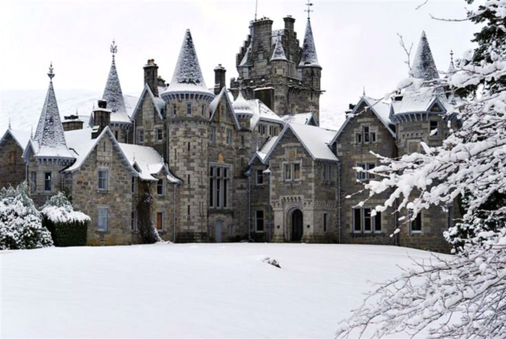 Ardverikie House in Scotland.  How much fun would it be to get lost in here?