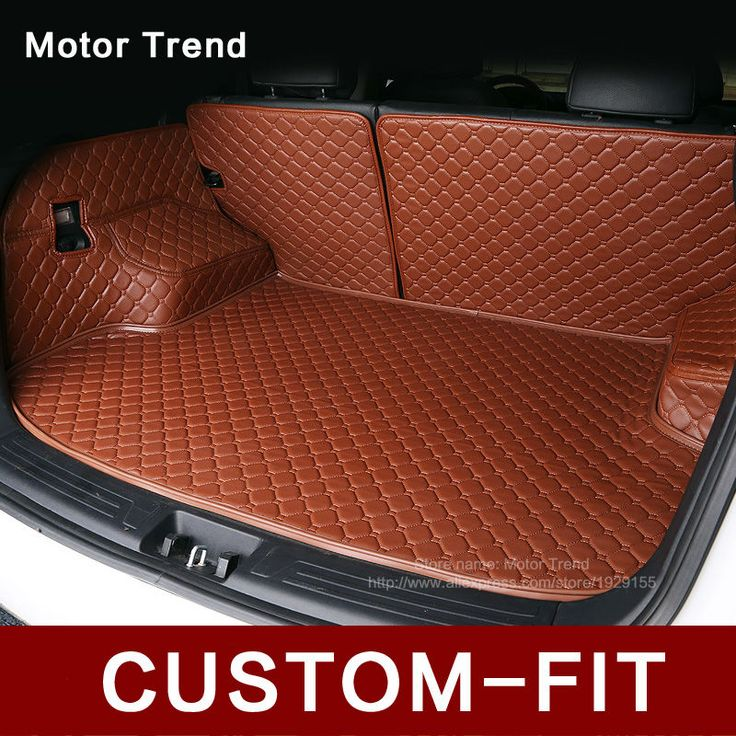 Custom fit car trunk mat for Camry RAV4 Corolla Altima CRV Civic Fusion Escape Focus Explorer 3D car styling cargo liner