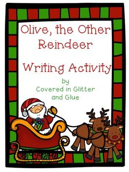 This writing activity goes along with the story Olive, the Other Reindeer. Students will choose an animal to help join Santa and his reindeer while delivering presents on Christmas. They will plan out four reasons their animal would be a great addition on the planning page and then write their final drafts on the reindeer themed writing paper.