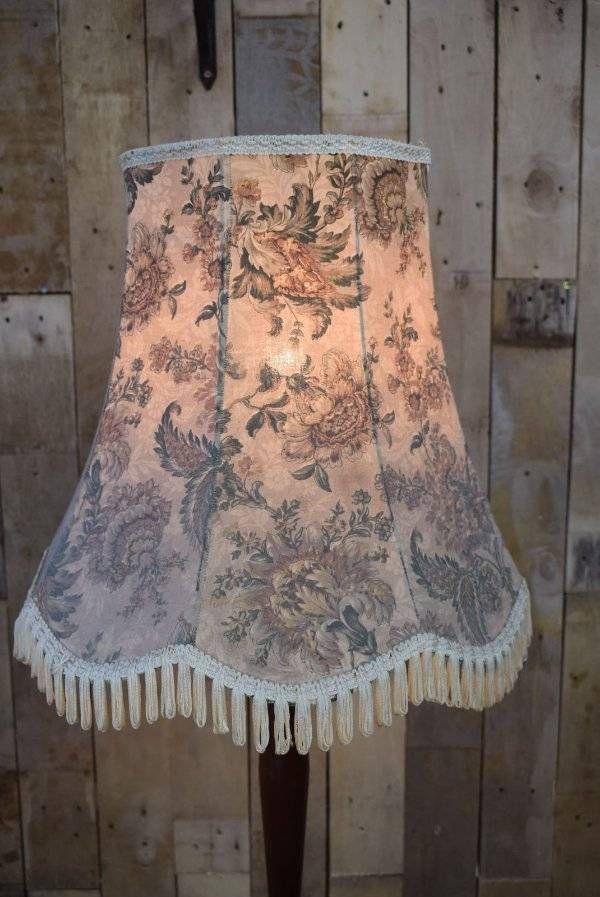 Retro Vintage Floral Standard Floor Light Lamp Shade