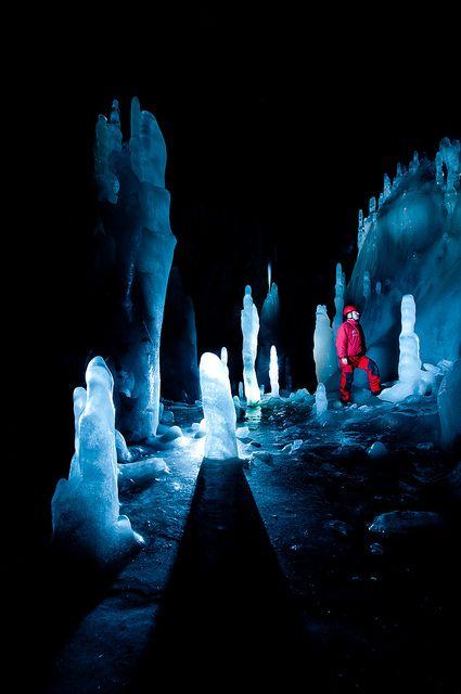 Scarisoara Glacier Cave, Romania