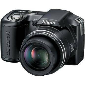 Nikon   Coolpix L100 Digital Camera (Matte Black)