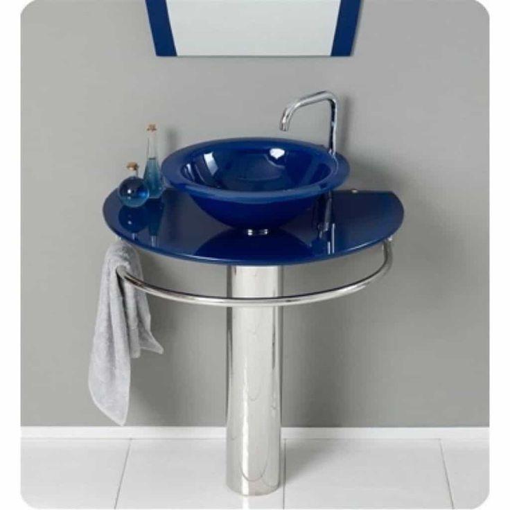 Beautiful Glass Bathroom Vanities