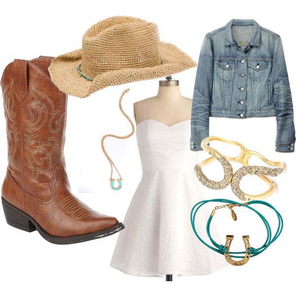 Cute cowgirl outfit. Discover your favorite fashions at getrockerbox.com