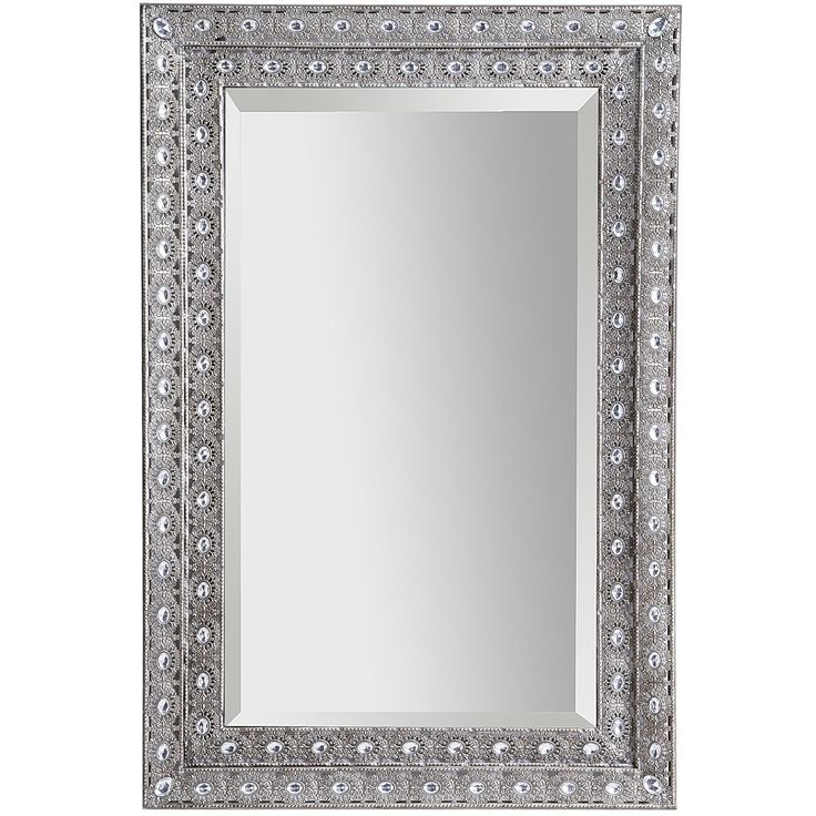Luminous Metal Framed 24x36 Mirror Classic Pier 1
