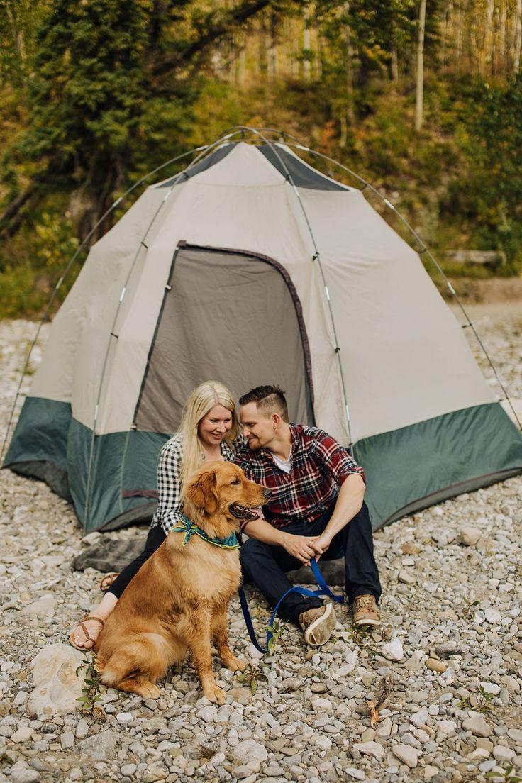 Couples Camping Photos