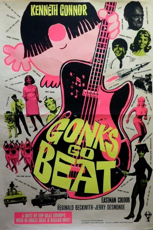 Tom Chantrell Posters | Gonks Go Beat UK 1-Sheet Poster 1965, 1965