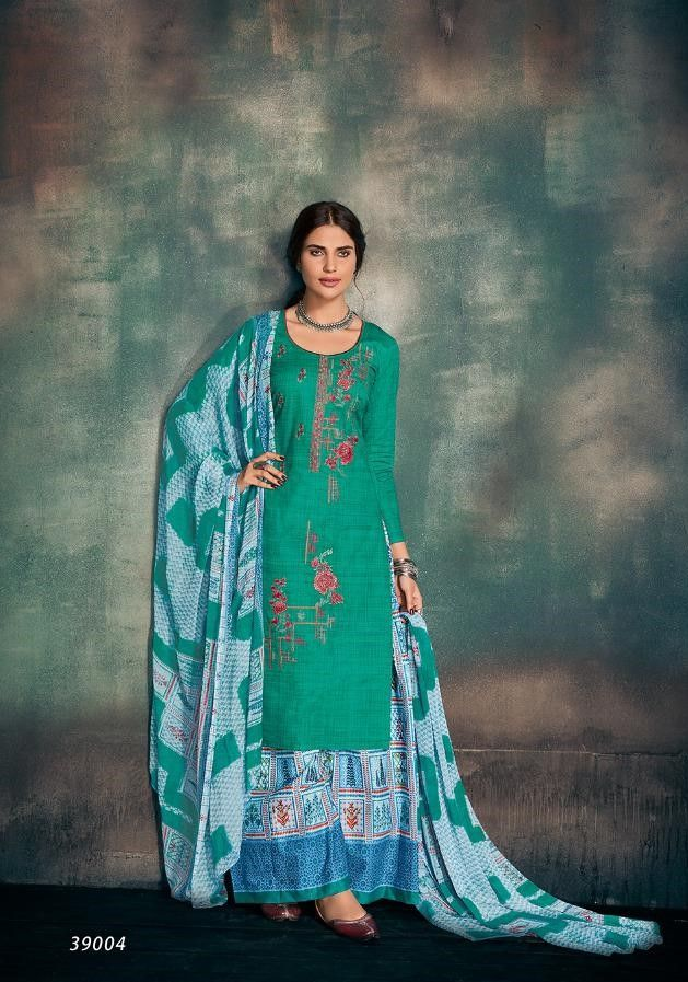 0e4935318f Deepsy Raahi Pure Cotton Print With Embroidery Suit(4 Pc Set ...