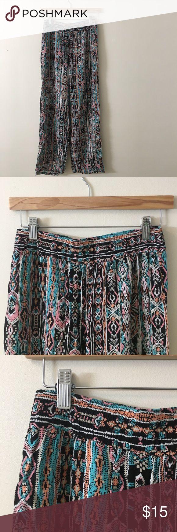 Aztec Pants Aztec patterned pants, these run small, they say large but fit a size 2-6. Joe Benbasset (Joe B) Pants