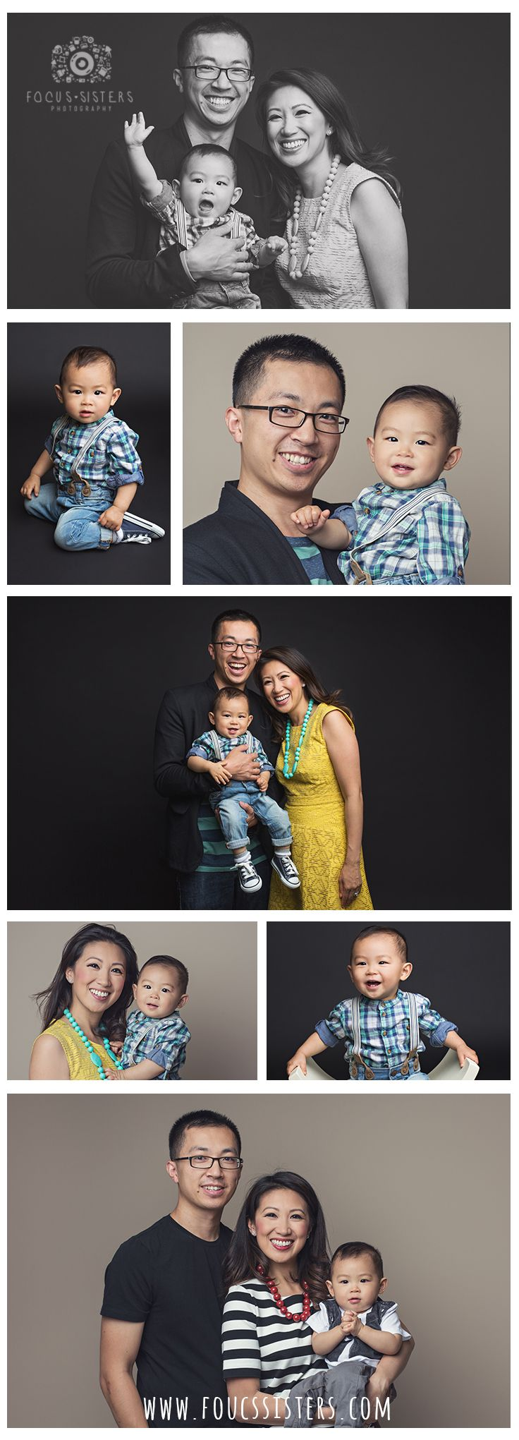 In-Studio Family Photos | Family Session | Calgary Alberta | Focus Sisters Photography