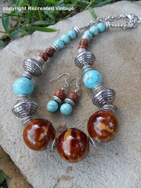 Hey, I found this really awesome Etsy listing at http://www.etsy.com/listing/163999789/amber-turquoise-antiqued-silver-western