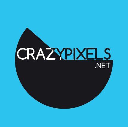 Crazypixels logó | Kreatív Webdesign Tanfolyam