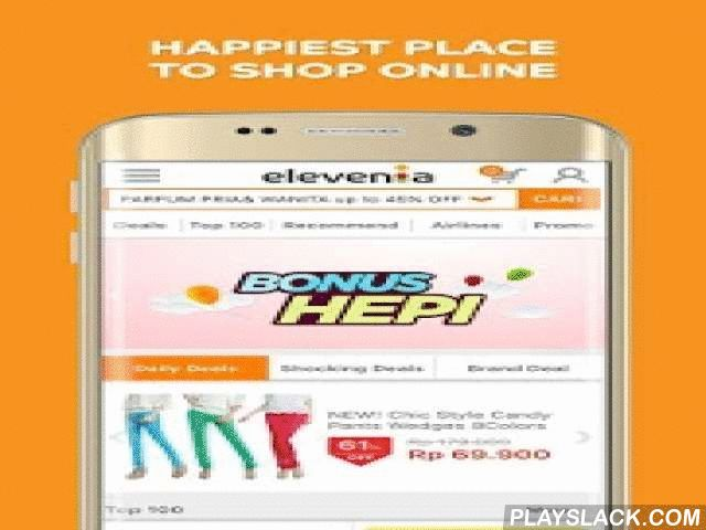 """Elevenia – Klik Cari Hepi  Android App - playslack.com ,  Download and enjoy experience the happiest place to shop online with the official elevenia application! Guaranteed with the best and cheapest price, elevenia also gives you exciting promos every day, every week, every month that is ready to surprise you!This month, elevenia is giving away Bonus Hepi that are special voucher with maximum discount Rp500.000, special offer """"HEPI Setiap HARI, and special APP only promo discount voucher…"""