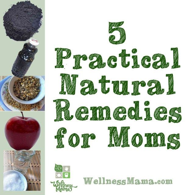 5 Practical Natural Remedies, don't have to be a mom to use these!