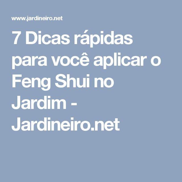 7 Dicas rápidas para você aplicar o Feng Shui no Jardim - Jardineiro.net