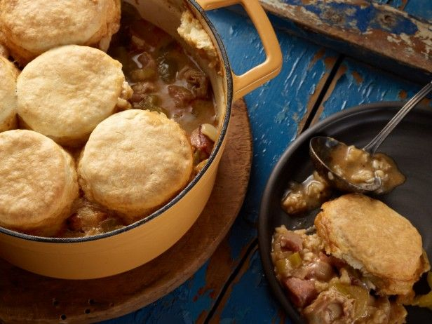 Smoked Turkey and File Gumbo Pot Pie -- Use our Smoked Turkey and File ...