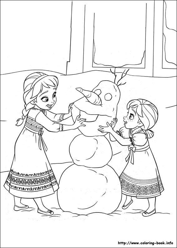 Coloring Pages Frozen 2 : Frozen coloring picture pages pinterest