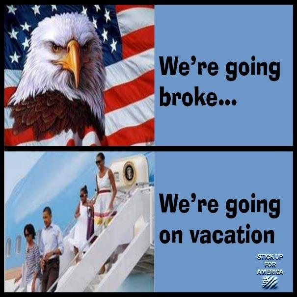 Which President Cost The Most Vacations: NO SHAME WHATSOEVER!