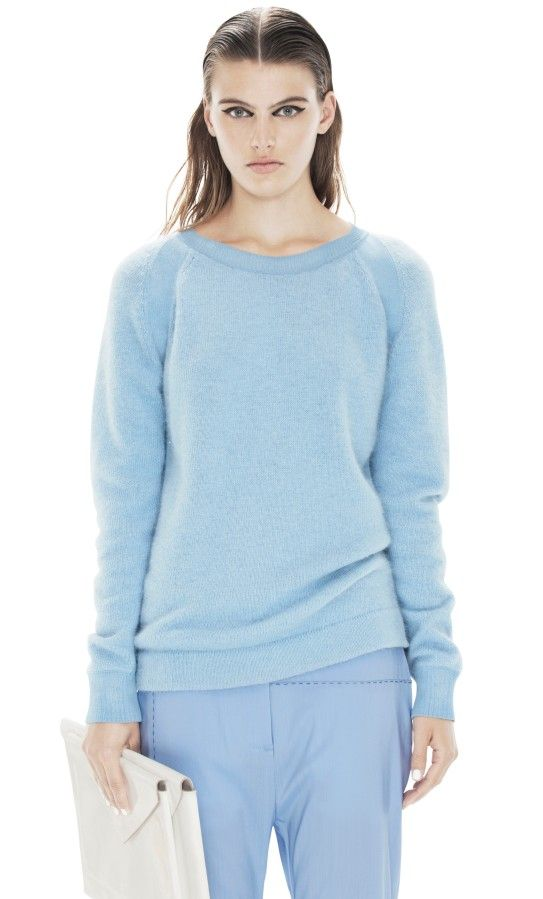 Micah Angora Sky Blue from acne