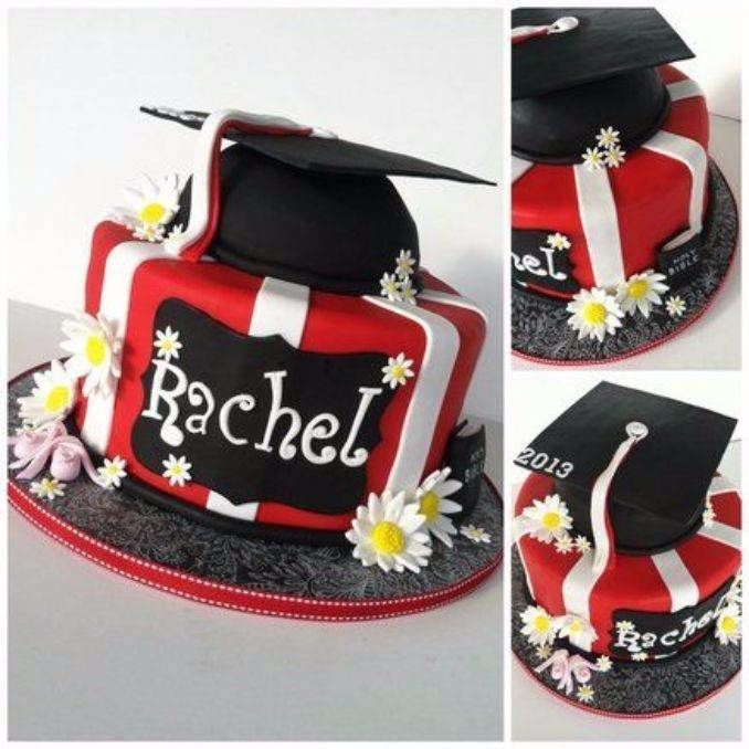 25 Simple But Creative Graduation Cakes And Cupcakes Family Holiday Net Guide To Family Holidays On The Internet Graduation Cakes Cupcake Cakes Cake