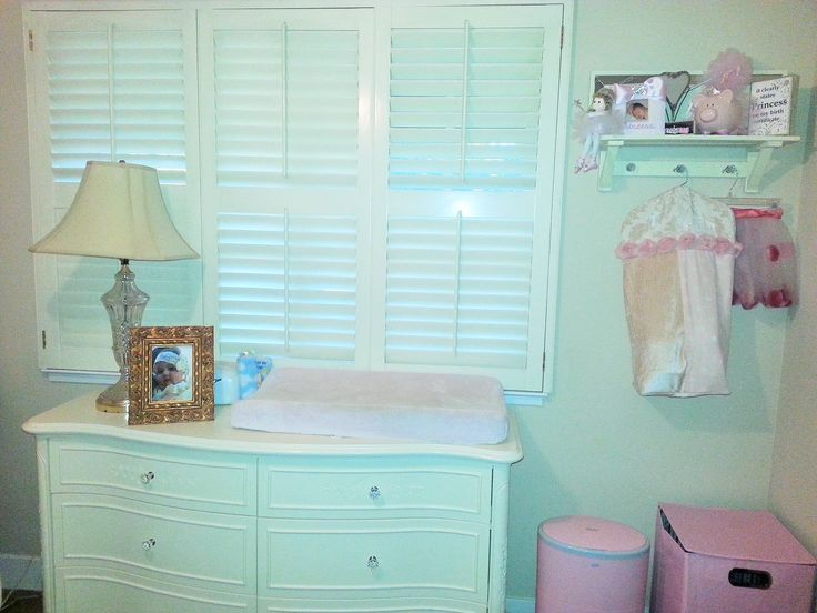 This is the perfect changing station! Changing pad, wipes warmer, diaper stacker, desitin, diaper pail- all within arms reach. And a soft book to keep baby distracted, of course!