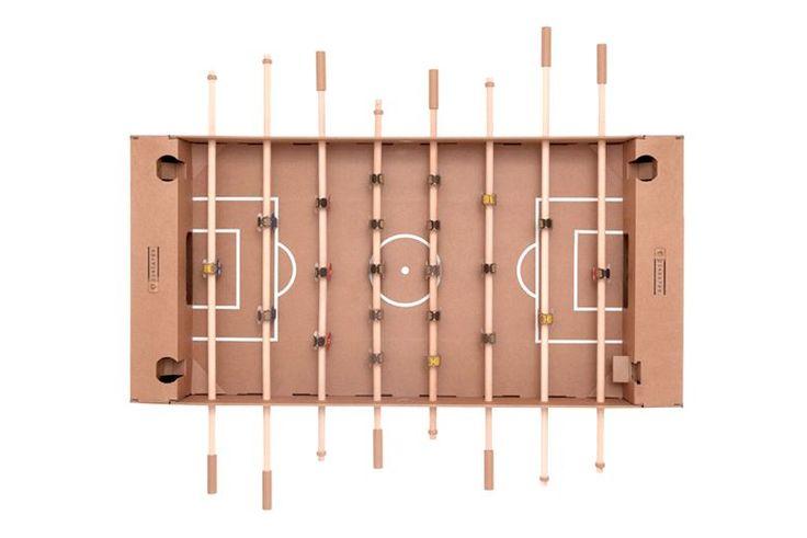 ドイツ発・段ボール素材のテーブルサッカーキット日本上陸