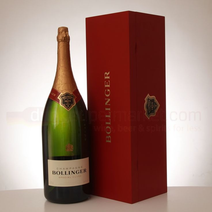 Bollinger Special Cuvee - Brut NV Champagne This is a heavier-bodied champagne, this champagne isn't for drinking on its own but for pairing with food from richer fish dishes, to pastas, to meats It sells around $50