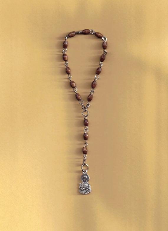 St Philomena Chaplet by jennyreb26thnc on Etsy, $3.50