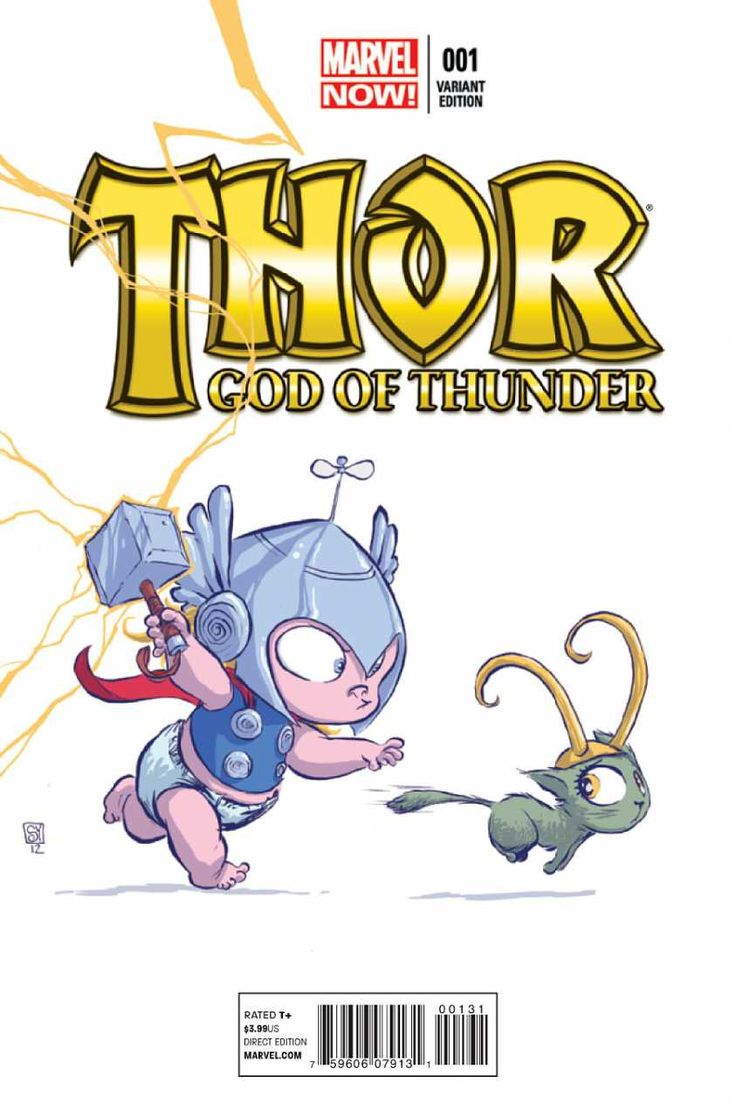 Thor: God of Thunder #1 - The God Butcher, Part One of Five: A World Without Gods (Issue) ~ THE REAL reason Loki HATES Thor!!!  Would YOU want to continually be hit and grabbed so tight you cannot breath!!!