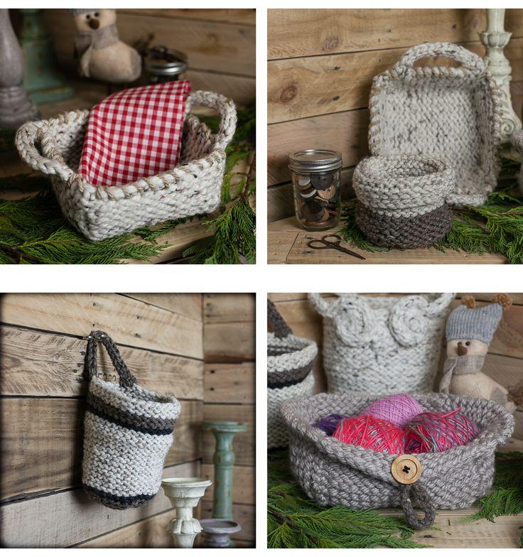106 Best Baskets Images On Pinterest Crochet Baskets Crocheted