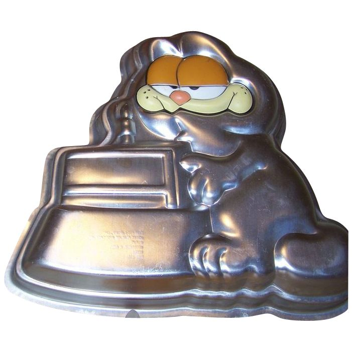 Garfield Character Wilton Cake Pan
