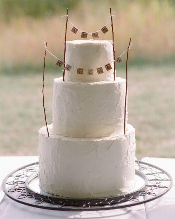 Crafty Cake Garland