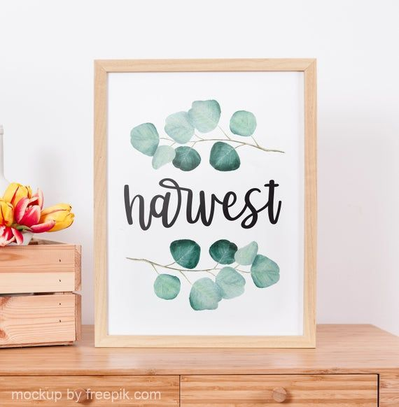 Description Harvest Fall Farmhouse Digital Wall Art Print Decor This Quote Would Be The Perfect Addition Printable Decor Autumn Theme Digital Wall Art