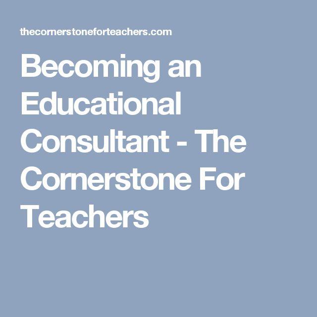 Best 25+ Education consultant ideas on Pinterest Kindergarten - education consultant resume