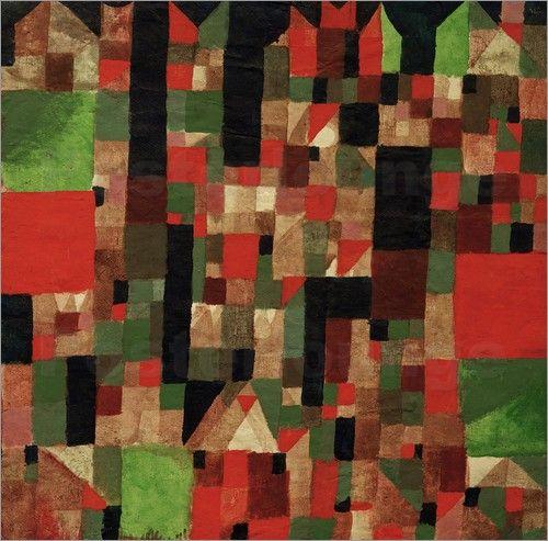 Paul Klee - Städtebild