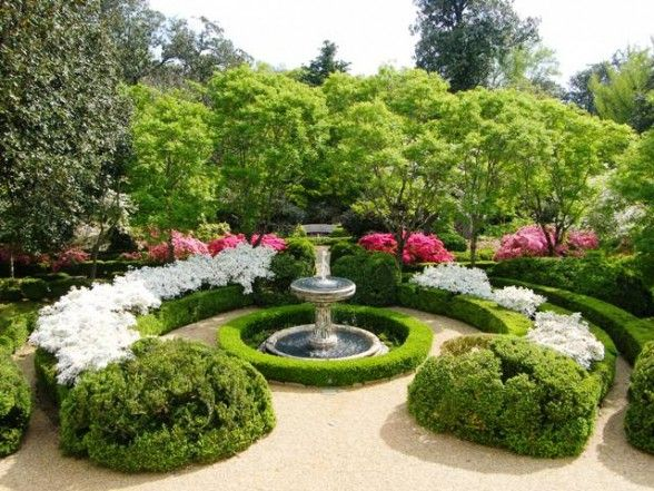 26 best small formal gardens images on pinterest
