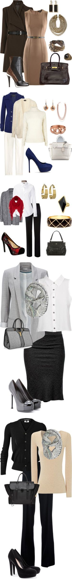 """Work Outfits"" by mickie-tucker on Polyvore"