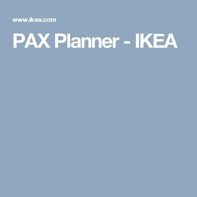 PAX Planner - IKEA