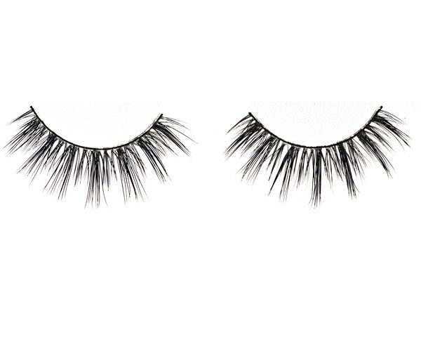 The Young Starlet Authentic Mink Fur Strip Eyelashes in the Blink Fancy Collection will have you feeling like you are in a teenage dream! These strip eyelashes are very long and have a designed pattern that include long to very long lengths varying from the inner to outer corner.