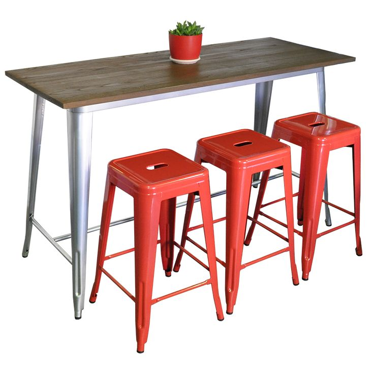 Tolix stools are light weight, stackable and easy to maintain. The Tolix stool has become a popular choice for home and commerce.