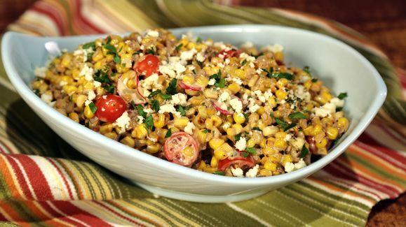 Mario Batali's Mexican Street Corn Salad