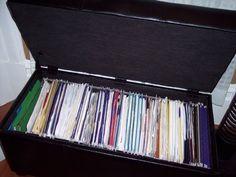 Before and After: Heather's Filing System | Apartment Therapy