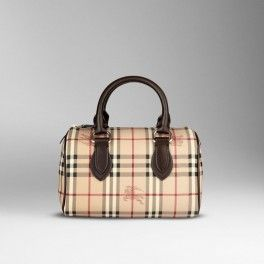 Burberry Medium Haymarket Check Bowling Bag 34600941