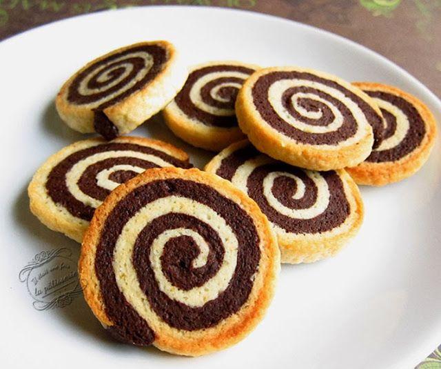 Bredeles spirales vanille et chocolat : Il était une fois la pâtisserie
