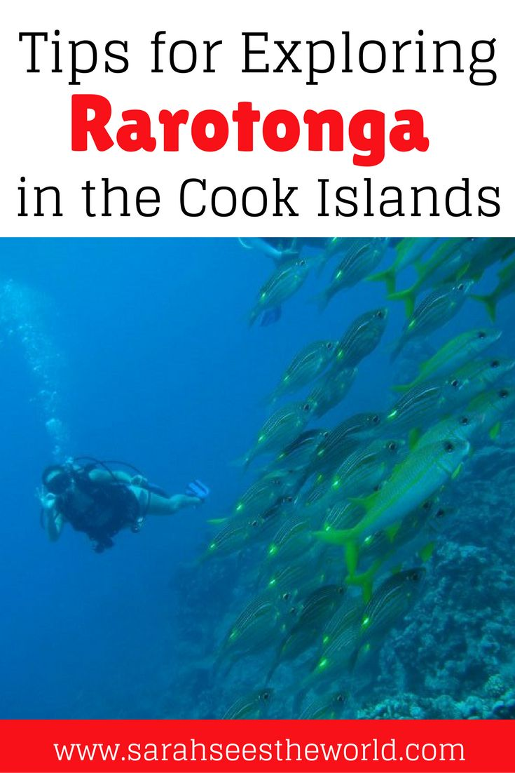 Rarotonga is a beautiful island in the Cook Islands. This is a great spot to visit if you're on a budget. Check out what you need to see and do while you're in Rarotonga, where to stay in Roratonga, and what to eat in Rarotonga. This island will absolutely take your breath away! Don't forget to save this to your travel board.
