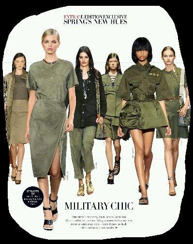 More military  looks
