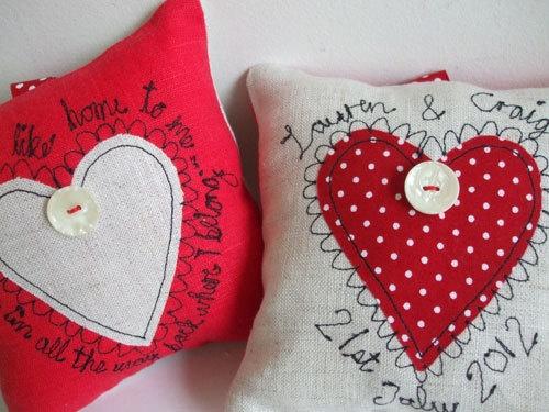 Wedding Cushion Keepsakes £35.00